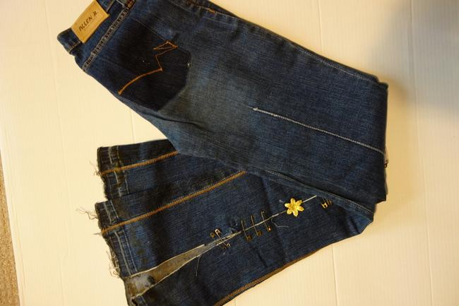A.B.S. by Allen Schwartz B. B. Wide Limited Edition Limited Edition Flare Leg Jeans-Medium Wash