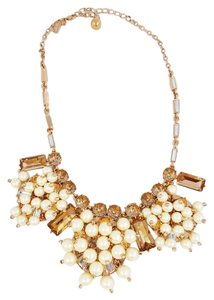 Kate Spade Pearl & Rhinestone Statement Necklace