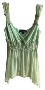 Rampage Flowy Top Light Green