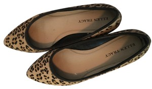 Ellen Tracy Leopard/Brown Flats