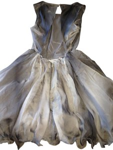 Rare London Ombre Tutu Grey Dress