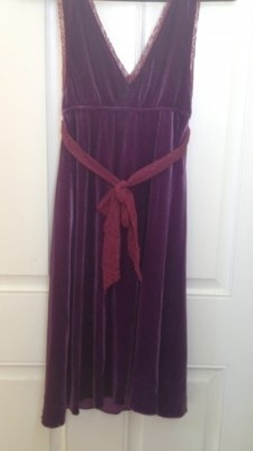 Free People short dress Plum on Tradesy