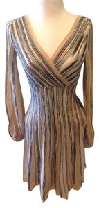 M Missoni Fit And Flare Italian Blush Dress