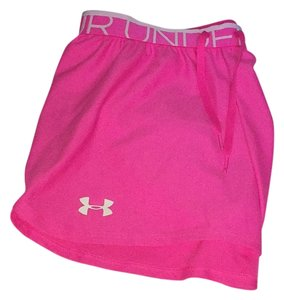 Under Armour Pink / White Shorts