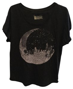 Modcloth T Shirt Black