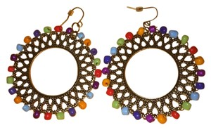 Other Multicolor Fashion Hoop Earrings