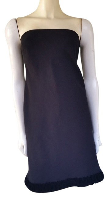 Preload https://item1.tradesy.com/images/w-by-worth-black-strapless-velvet-trim-knee-length-cocktail-dress-size-4-s-1502350-0-0.jpg?width=400&height=650