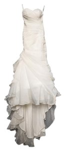 Essense of Australia Ivory Organza 5835 Vintage Wedding Dress Size 0 (XS)