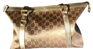 Gucci Tote in Bronze and Gold