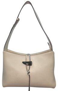 TOSCA BLU Beige Leather Shoulder Bag