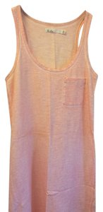 Madewell short dress Pink/Coral Tank Beach Cover Up Pink on Tradesy