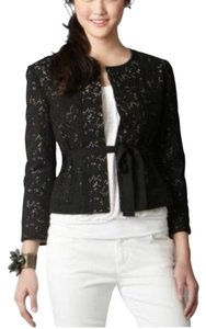 Ann Taylor LOFT Black and tan Blazer