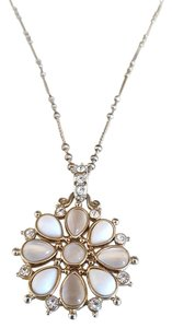 Nordstrom White and Champagne Bauble Pendant
