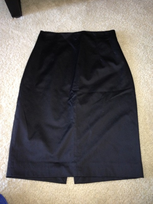 Mango Pencil Skirt black