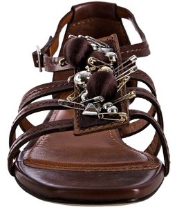 Marc Jacobs Leather Brown Sandals