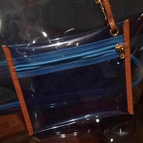 C. Wonder Tote in Translucent Blue
