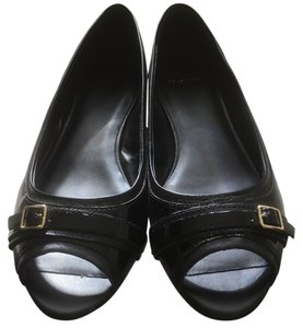 Cole Haan Patent Leather Black Flats
