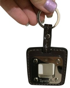 Tignanello Tignanello Brown Silver Key Ring