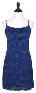 My Michelle short dress Blue, Green on Tradesy