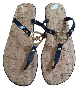 Michael Kors Navy Blue Sandals