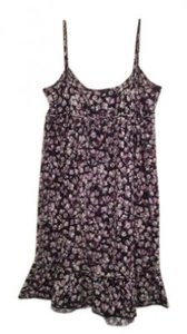 Ann Taylor LOFT short dress Black and Purple on Tradesy