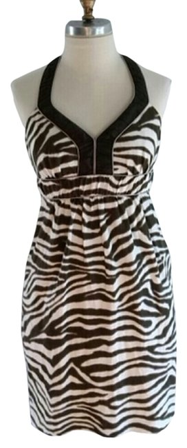 Banana Republic short dress Zebra Print on Tradesy