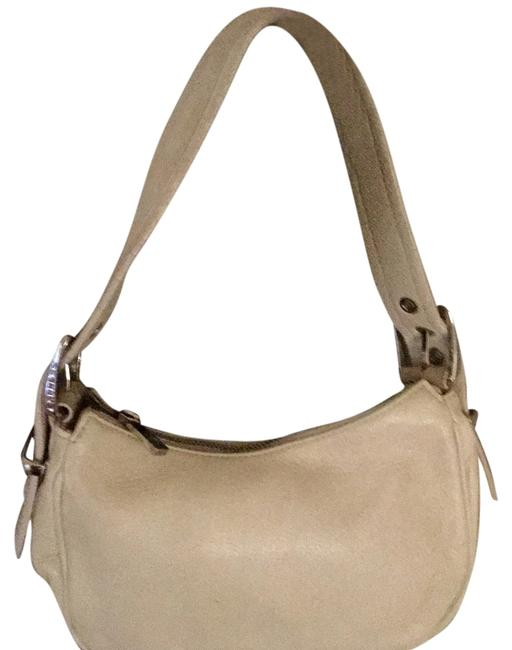 Item - No Style Name Cream Leather Suede Hobo Bag