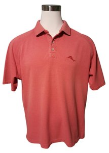 Tommy Bahama Button Down Shirt Light Red/Salmon