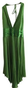 Laundry by Shelli Segal Prom Halter Pleated Silk Dress