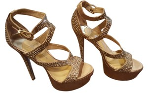 Gianni Bini Gold Pale Gold Sandals