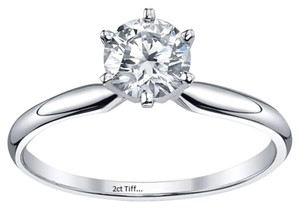 4.5 5 6 7 8 Size 2ct Halo Round Single Prong Solitaire Engagement Lab Certified Vvs1 Band Wedding Diamond Engagement New