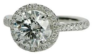New 2.5 Ct All Sizes In Stock 4 5 6 7 8 9 Diamond Cz Ring Halo Band Sterling Silver 925 Wedding Bridal