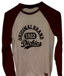Dickies Top Red And White
