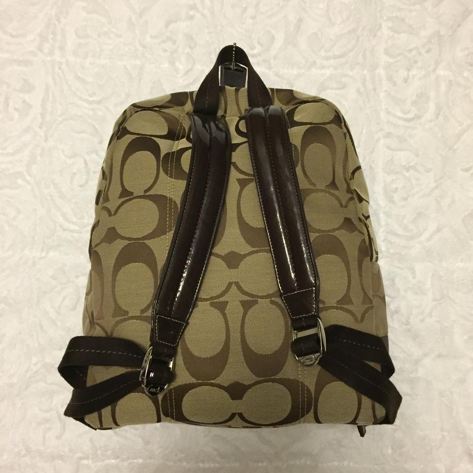 a022f3fcd2 Coach D-1169-f77171 Brown Fabric Backpack - Tradesy