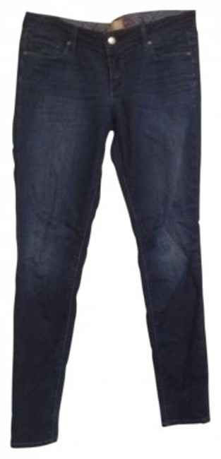 Preload https://item4.tradesy.com/images/paige-blue-dark-rinse-skinny-jeans-size-31-6-m-150268-0-0.jpg?width=400&height=650