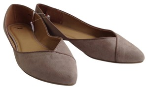 Gap Iridescent Ballet New Spring Grey Flats