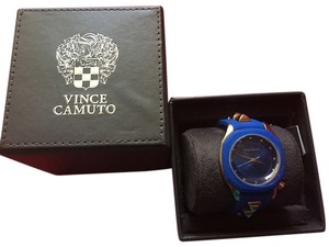 Vince Camuto Vince Camuto Women's Royal Blue Gold Studded Watch
