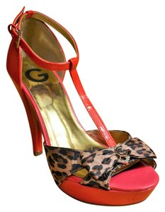 Guess By Marciano Leopard Sparkle Pink multicolor Pumps