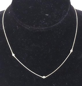 Tiffany & Co. Authentic Tiffany & Co. Diamond by the Yard Necklace Sterling Silver