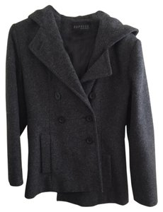 Express Hooded Pea Coat