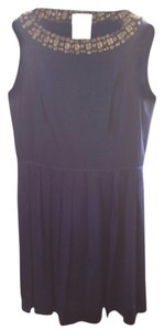 Shoshanna short dress Blue Satin Necklace on Tradesy
