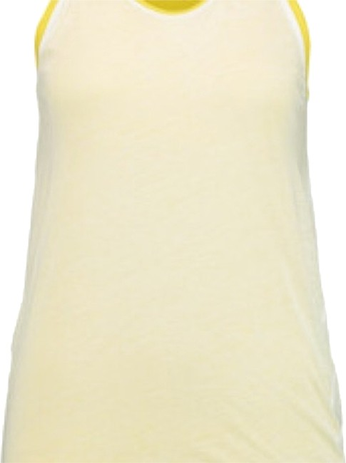 Item - Yellow Neon White Sleeveless New with Tag Tank Top/Cami Size 8 (M)