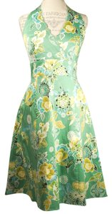 Spenser Jeremy short dress Green Floral Multi on Tradesy