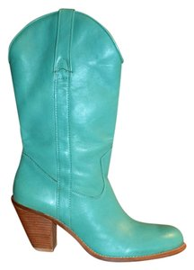 Jessica Simpson Cowboy Teal Boots