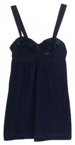 Abercrombie & Fitch Top Navy Blue