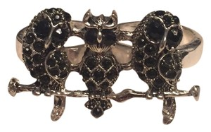 Torrid Two Finger Ring Three Owls On A Branch