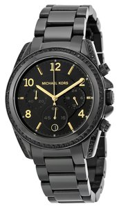 Michael Kors Michael Kors Blair Pave Black-Tone Women's Watch MK6283