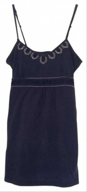 American Eagle Outfitters Top Navy Blue