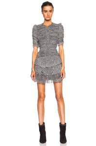 Isabel Marant short dress black and gray on Tradesy
