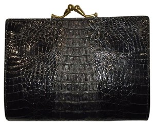 crocodile, black,